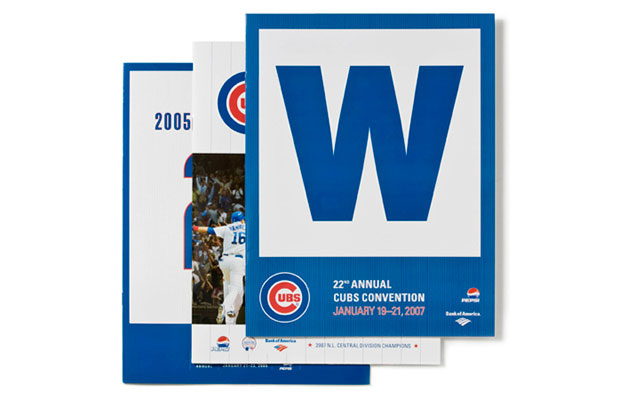 Cubs Convention Program Covers