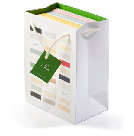 Domtar Swatch Book Tote Bag