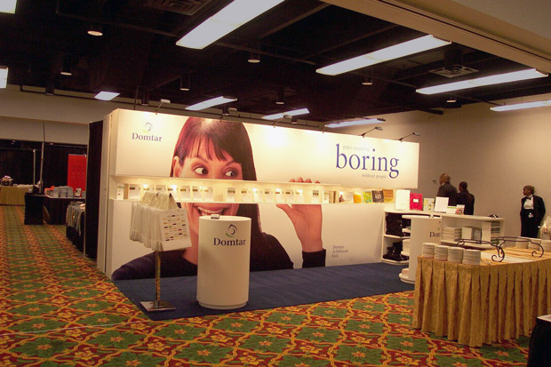 Domtar Tradeshow Display