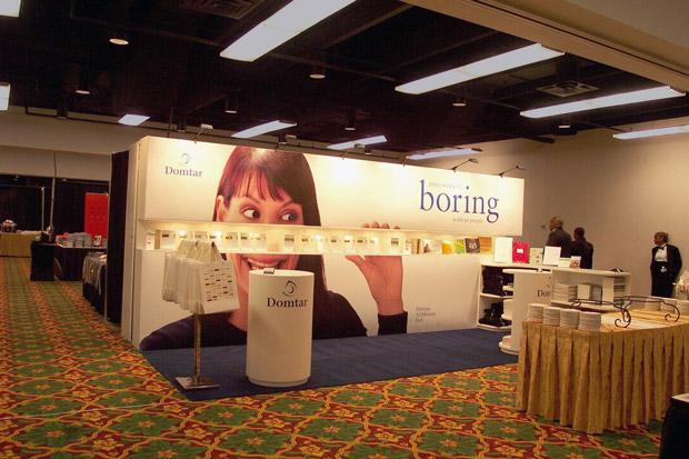 Domtar Tradeshow Display