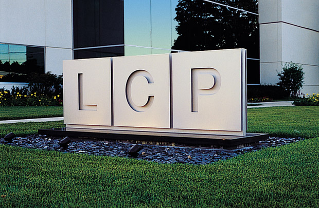 Lake County Press Exterior Signage