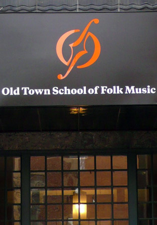 Old Town School of Folk Music Signage