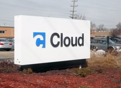 Ryt-Way Cloud Equipment Exterior Sign