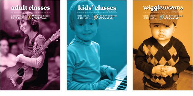 Old Town School of Folk Music Brochures