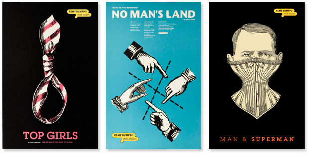 Remy Bumppo Poster Series