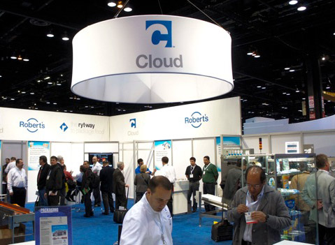 Ryt-Way Cloud Equipment Tradeshow Sign